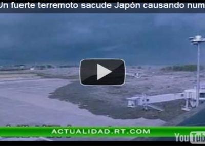 tsunami en Japon  Yout...